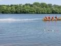 Feuerwehrschlauchbootfahren